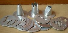 Mirro Cookie Pastry Press Plates Discs Tips Replacement Parts your choice