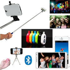 Selfie Bluetooth Remote Control Self-Time Shutter + Extendable Mount for Phone
