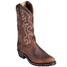 MENS DOUBLE H 12 INCH PULL ON WESTERN WORK BOOT 3282
