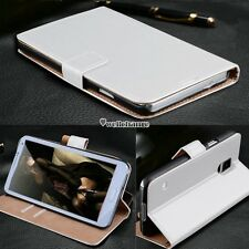 NEW Luxury Flip Leather Wallet Case Cover For Samsung Galaxy  S3 S4 S5 Note W3LE