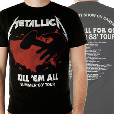OFFICIAL Metallica - Kill 'em All 83 Tour T-shirt NEW Licensed Band Merch ALL SI