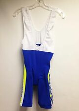 Team Fenioux Gelules Cycling Bib Shorts in Royal Blue. Made in Italy by MSTina