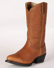 DURANGO MENS GOLDEN BROWN COWBOY WESTERN BOOTS! DB5132~SUPER SOFT LEATHER!