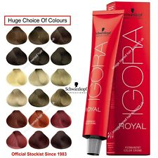 Schwarzkopf Igora Royal Professional Hair Color Creme 60ml Tint Dye All Colours
