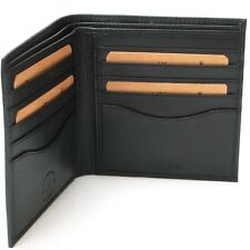 Mens Leather Card Organizer Wallet Hammer Anvil Bifold Hipster 10 card Slots New