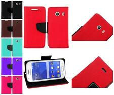 For Samsung Galaxy Ace Style S765C Premium Leather Credit Card Holder Cover Case