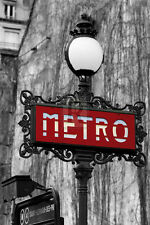 Bill Philip LE METRO ROUGE giclee print VARIOUS SIZES new SEE OUR STORE