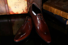 Men 100% REAL Cowhide Leather Lace Up Oxfords Casual Formal Dress Shoes Handmade