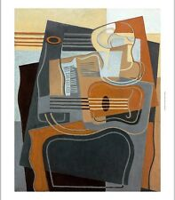 "JUAN GRIS ""Le Gueridon"" abstract CANVAS browse our SHOP various SIZES, BRAND NEW"