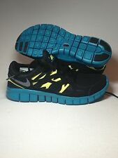 NEW WOMENS NIKE FREE RUN+ 2 RUNNING SHOES MSRP $100 BLACK ATHLETIC 536746-003