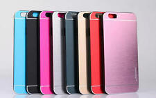 Luxury Motomo Deluxe Metal Brush Cover Fit in Case for Apple iPhone 6  4.7inch