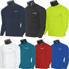 New Mens Boys Body Armour Compression Thermal Under Shirt Top Outdoor