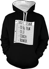 Stay At Home Dads Resume Father Chauffeur Chef Coach 2-tone Hoodie Pullover