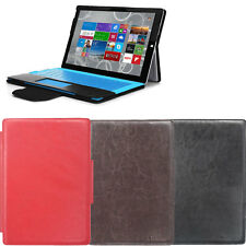 Multi Colors Stand Leather Case Cover for Microsoft Surface Pro 3 Tablet 12inch