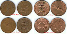 GUERNSEY ½p or 1p 1 Penny Coin Hunt. Choose your item Supplied in Coin Wallet