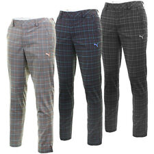 Puma Golf AW13 Mens Plaid Tech Style Pant Performance Golf Trousers
