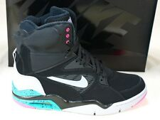 Nike Air Command Force Pump Spurs Black Hyper Turquoise Pink Casual 684715-001