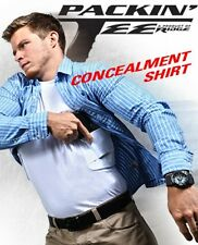 CONCEALMENT PACKIN' TEE HOLSTER T-SHIRT BLACK CONCEALED CARRY HOLSTER SHIRT