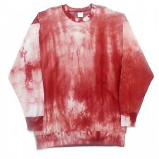 TYE DYE FLEECE COTTON/POLY SWEATSHIRT M-11/12XB & LT-9/10XLT SOV 8800TD