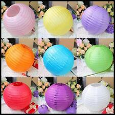 """New Chinese Paper Lanterns Wedding Party Decoration 10"""" 12""""14""""16"""" 18"""" Multicolor"""