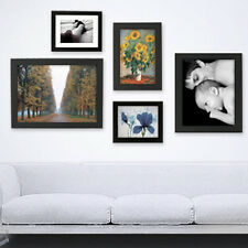 Online Digital Photo Printing Service with Frame /  Free Laminating  / Black
