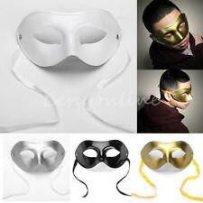 Men's Masquerade Ball Party Eye Mask Venetian Costume Face Mask Fancy Dress