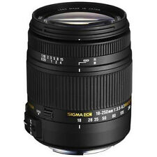 Sigma 18-250mm F3.5-6.3 DC Macro OS HSM Lens for Canon,Nikon, Pentax or Sony