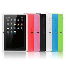 "7"" Google Android Tablet with WiFi TouchScreen Camera Netflix Skype Chromo - New"