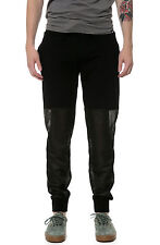 Karmaloop SIR New York The Half Mesh Sweatpants Black