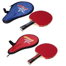 Sport Ping Pong Table Tennis Long Handle Racket Paddle W/ Waterproof Pouch CN