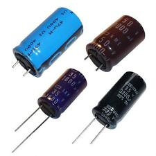Aluminium Elektrolytic Capacitors -  Radial - different values