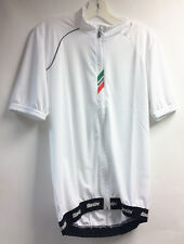 ZEIT LITE Cycling Jersey in White. Made in Italy by Santini.