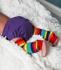 Newborn Leg Warmers New Stripes Multiple Patterns Available Baby Girls Boys