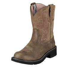 LADIES ARIAT FATBABY II BROWN BOMBER 10004730 WESTERN COWGIRL BOOT