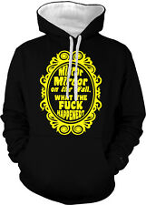 Mirror On The Wall What Happened Shenanigans Hangover 2-tone Hoodie Pullover