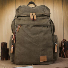 Man New Canvas Backpack School Bag Fashion Rucksack Hiking & Camping Bag FB287
