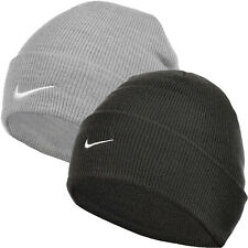 Nike Adults Unisex Mens Womens Fine Knit Winter Warm Beanie Hat