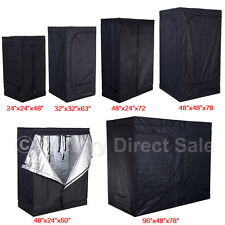 Indoor Grow Tent Room Reflective Mylar Hydroponic Non Toxic Clone Hut 6 Size