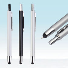 Capacitive Touch Screen Stylus + Ballpoint Pen Fo Tablet PC iPad iPhone Android
