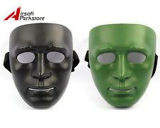 Airsoft Paintball Tactical Military Outdoor Man Full Face Guard Mask Defense BB