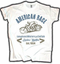 USA Retro Vintage Biker T-Shirt,Explore, Motorcycle Classic Design