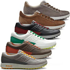 Ecco 2014 Mens Street Evo One Waterproof Spikeless Golf Shoes Hydromax Leather