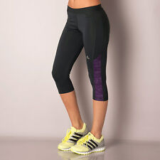 adidas Womens Fuse Tech Fit Capri Tights In Grey From Get The Label ad1