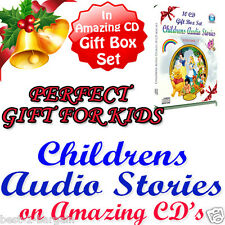 Children Stories GIFT SET BOX Audio Story Books on CD Fairy Kids Childrens Short