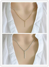 New Womens Fashion Charm Elegant Gold/Silver Pendant Necklaces Chain Hot Gift