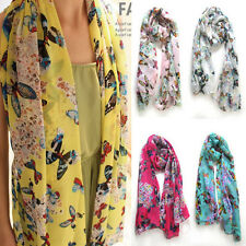 FREE Chiffon Women Ladies Scarf Neck Shawl Scarf Scarves Wrap Stole Warm New