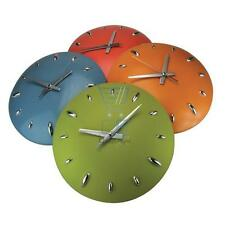 Splash Dome Vibrant Coloured Wall Clock - 4 Colours