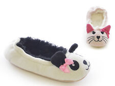 Girl's Ballet Slippers choose Panda or Cat Sizes 9-3 Available