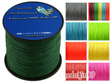 100%PE Multicolor 100M Braid Fishing Line All LB Dyneema Spectra Fishing Line