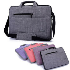 "Nylon 14""15"" Laptop Case Handle Shoulder Bag Carry PC Sleeve Cover Netbook Pouch"